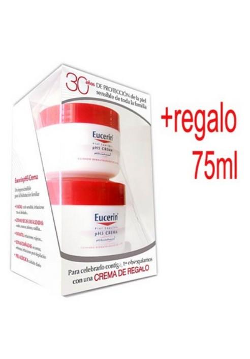 Crema Facial y Corporal 100ml + 75ml Regalo pH5 Eucerin